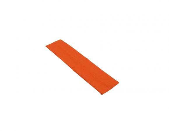 látková čelenka oranžová u1