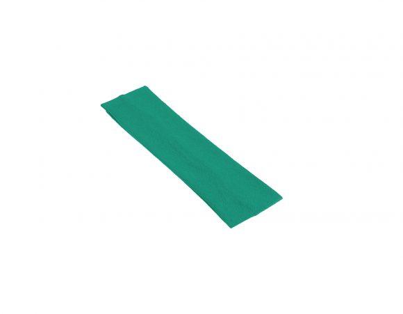 látková čelenka tyrkysovo zelená u1
